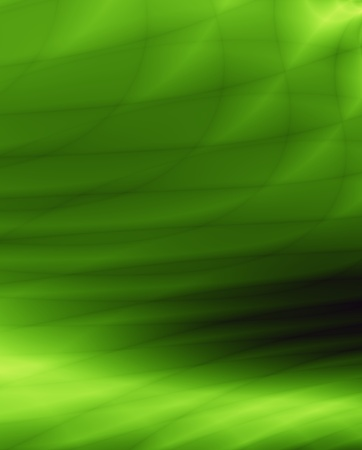 greenness: Green wave eco background