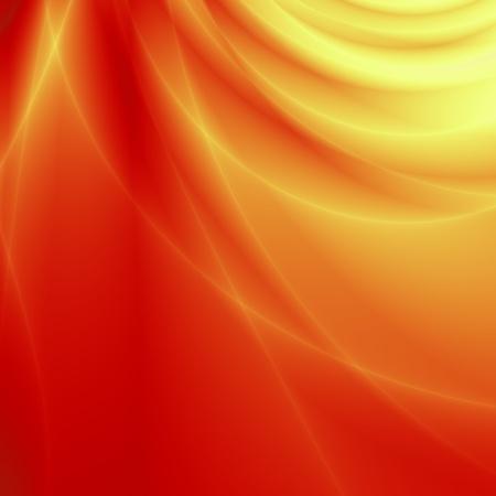 Orange card design