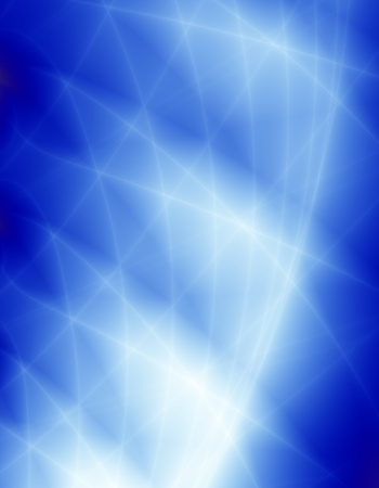Blue light space background Stock Photo