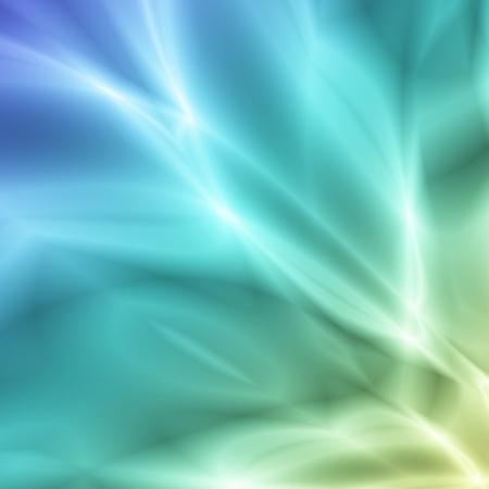 Blue fantasy light background Stock Photo