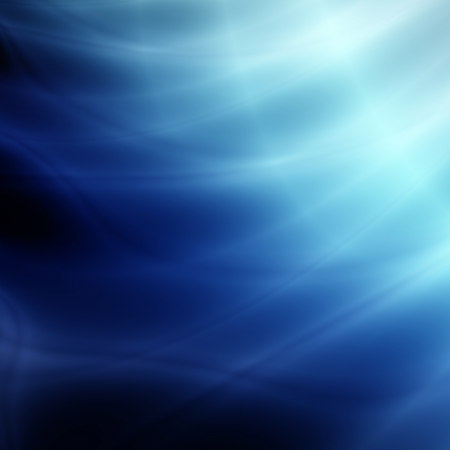 Blue space abstract background
