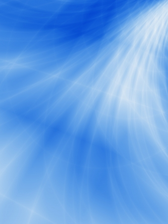 Ocean wave background abstract blue design Stock Photo