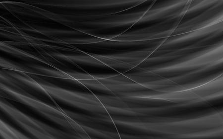 silky velvet: Dark grunge abstract pattern black background Stock Photo