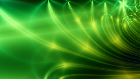 wide: green wide shine Stock Photo