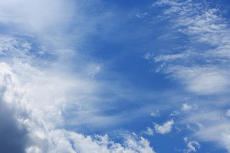 blue background: Summer sky blue background Stock Photo