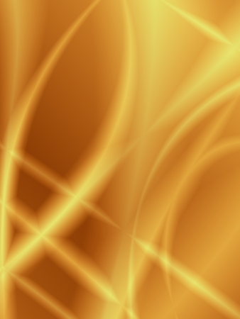 Graphic background golden flow abstract wallpaper