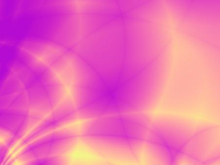 ray of light: Neon shiny yellow purple flow backdrop Stock Photo