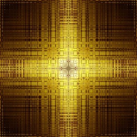 Ornament golden abstract illustration mandala backdrop