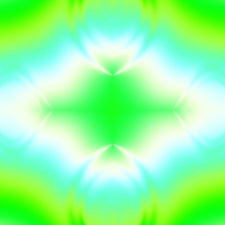 Green mandala fantasy abstract backdrop design