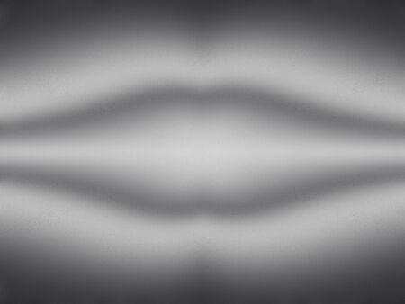 Fractal art monochrome illustration background