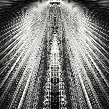 Light background texture fractal monochrome design