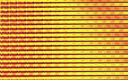 Fractal art illustration technology pattern background