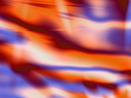 Red hot stream energy art background
