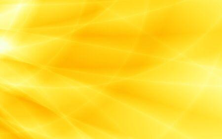 Gelbe Hintergrundsonnenstrahlen abstrakte Illustration