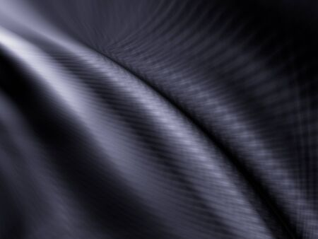 Black dark industrial abstract wave material pattern