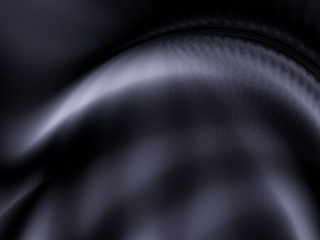 Dark black texture wave material abstract background