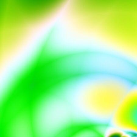 Green illustration wave abstract nature backdrop