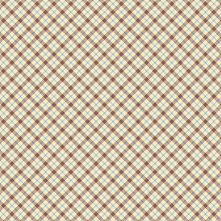 Plaid seamless pattern. Flannel fabric texture from tartan, plaid, tablecloths, shirts, clothes, dresses, bedding blankets and other textile Фото со стока