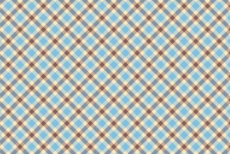 Plaid seamless pattern. Flannel fabric texture from tartan, plaid, tablecloths, shirts, clothes, dresses, bedding blankets and other textile Фото со стока - 150480770