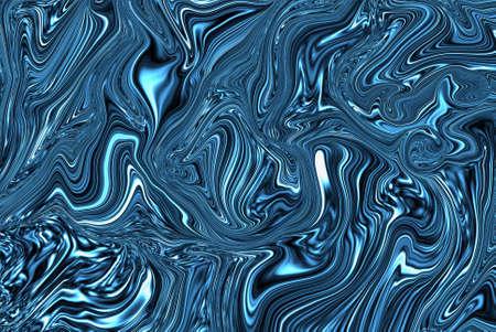 Precious metal flow image. Marble abstract background digital illustration. Liquid gold surface artwork, 3d illustration. Фото со стока