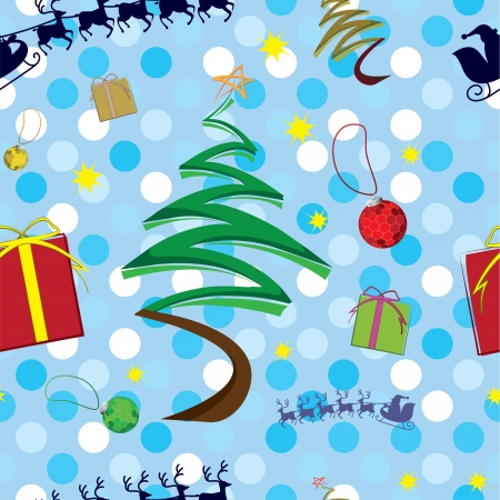 Christmas seamless pattern in eps 10 format Vector