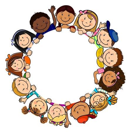 niño preescolar: Los pueblos del mundo