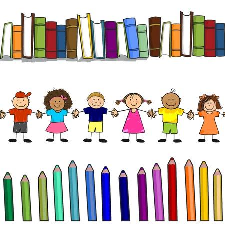 sketch book: children Illustration