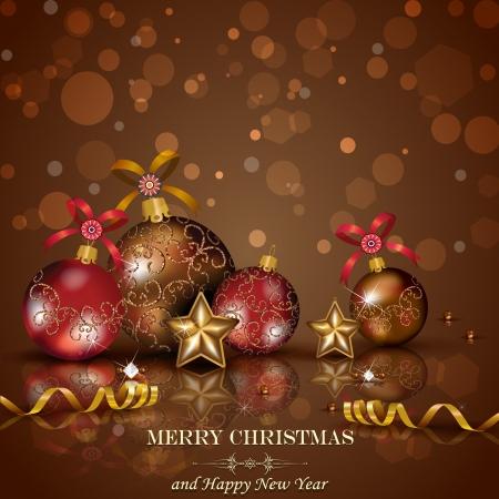 fondo chocolate: Adornos navide�os y decoraciones de chocolate de fondo