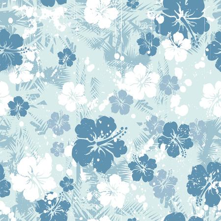 熱帯花のシームレスな不良