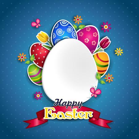白い卵と色、独自のテキスト透明ブレンディング効果やグラデーションを挿入できます。