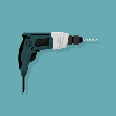 Design of a manual electric drill, a work tool