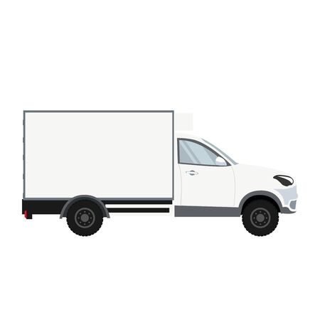 Truck design with refrigeration chamber for delivery