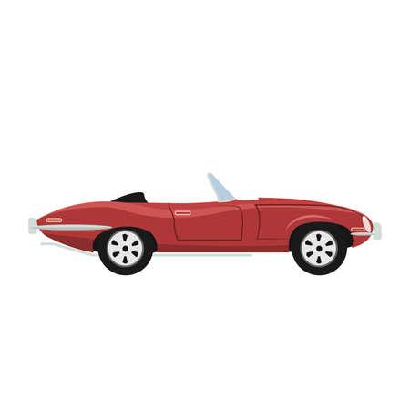 Classic and antique luxury convertible car design