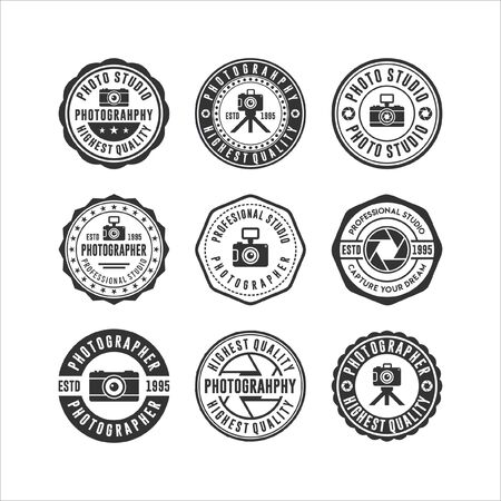 Badge stamps Photo Studio Collections