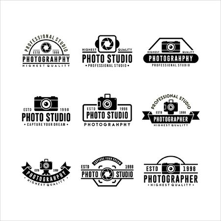 Photography Photo Studio logos Collections