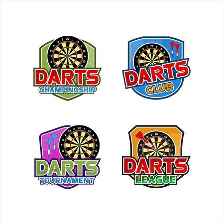 Darts club tournamen championship set