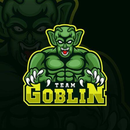 Goblin team esport gaming logo