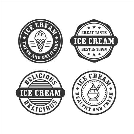 Ice cream stamp premium collectiction