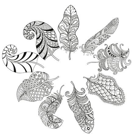 pluma: abstracta, americano, antiguo, arte, azteca, fondo, hermoso, belleza, negro, decoraci�n, dise�o, dibujo, dibujado, sue�o, �guila, elemento, �tnica, tela, moda, pluma, vuelo, gr�fico, hippie, ilustraci�n, indio, aislado, naturaleza, ornamento,