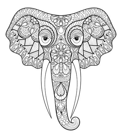 Ungewöhnlich Malvorlagen Des Indischen Elefanten Ideen ...