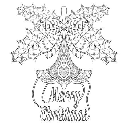 Juguete Del árbol De Navidad Con Hojas De Muérdago, Desea En El ...