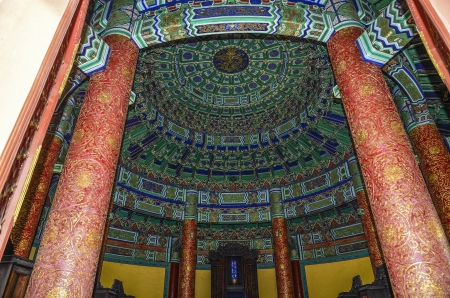 dynasty:  qing dynasty architecture Editorial