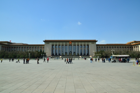 great hall: the great hall of the people in China
