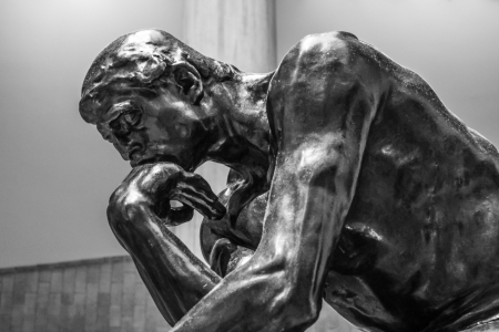 thinkers: Classical sculpture