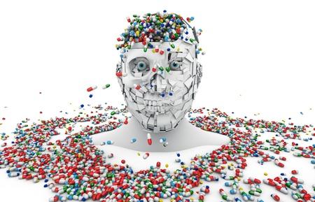 health, illness, madness, death, prescription, psychiatrist