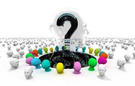 question, answer, solution, teamwork