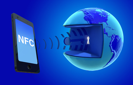 NFC, Near Field Communication.