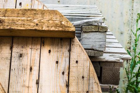 ferraille: Copeaux de bois pour le recyclage