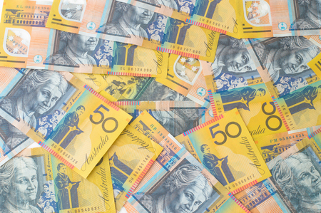 Australian Money - Aussie currency background