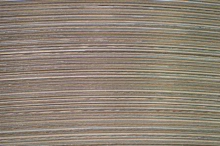 corrugated cardboard: Side View of  a Corrugated Cardboard